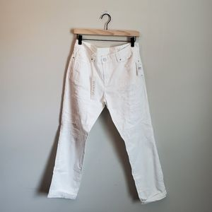 3/$30 BLANK NYC straight white jeans NWT 28